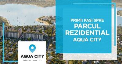 Primii pasi spre parcul rezidential Aqua City