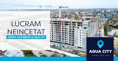 Stadiul lucrarilor la Aqua City – Noiembrie 2020