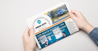 Ziarul Aqua City, primul ziar al unei comunități urbane din București