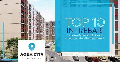 Top 10 intrebari pe care sa le pui dezvoltatorului atunci cand iti cauti un apartament. Partea I
