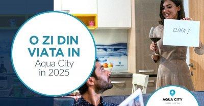 O zi din viata in Aqua City. In 2025