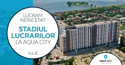 Stadiul lucrarilor la Aqua City – Iulie 2021: am pus centrale in toate apartamentele & alte 4 update-uri majore