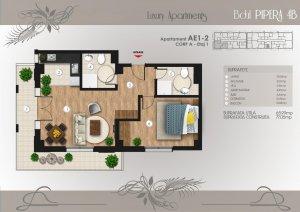 Pipera Tunari - langa lac - apartament 2 camere