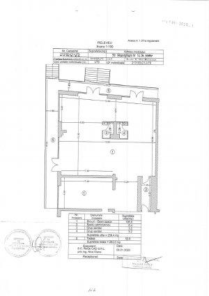Spatiu Birou - 222 mp - Unirii - 5 parcari  in subteran