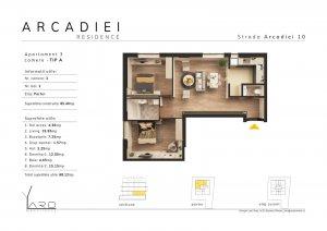 Arcadiei 10 Berceni - Aparatorii Patriei - 3 camere + curte 25 mp