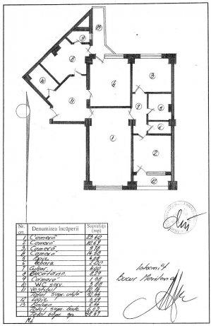 Apartament 4 camere decomandat - Universitate Bloc Dunarea