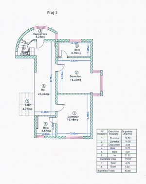 Vila exclusivista Pipera - S+P+2 - 551 mpc - cu garaj/piscina