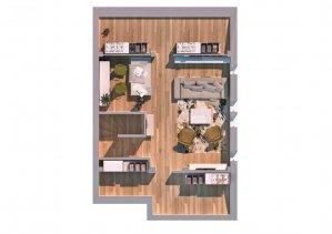 Pipera - Ansamblu rezidential - vila P+1+M - 5 camere