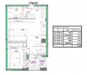 Parcul Corcului - Bld. Lacul Tei - apartament 2 camere 2020