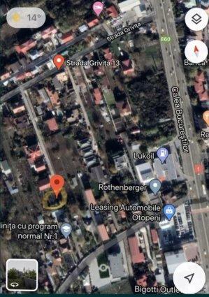 Otopeni - teren intravilan 400 mp - intre vile