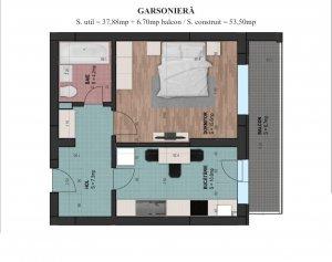 Garsoniera - decomandata - 45 mp - Parcul Carol - Monetarie
