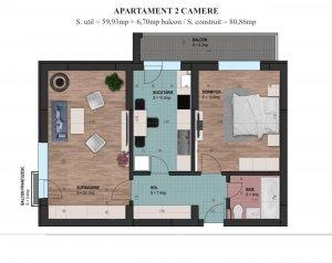 2 camere 2020 - Parcul Carol - Fabrica de Chibrituri - COMISION 0