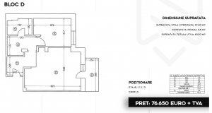 Pipera - Stefanesti - apartament 2 camere cu vedere spre lac
