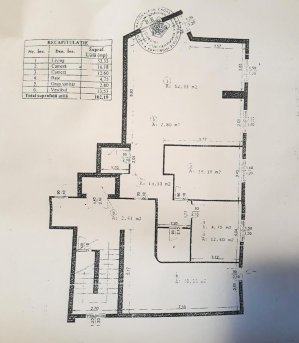 3 camere Herastrau - parcare - pentru birou/locuinta