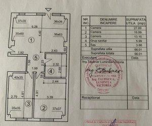 Apartament 3 camere - Baneasa - Curte 26mp - 2 locuri parcare