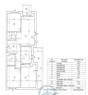 Apartament nou cu 4 camere de inchiriat in zona Baneasa - Sisesti