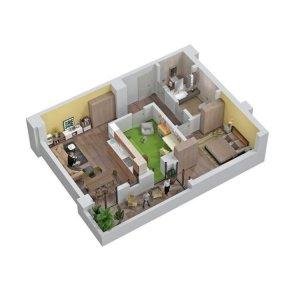 Apartament 3 camere - 79,6mp BL 2 - Trafic Greu - Nasaud - COMISION 0