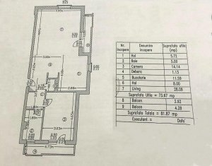 Apartament doua camere in Greenfield Residence