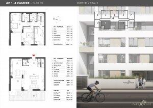 Nordului 96 - Herastrau - Duplex 4 camere 168.53 mp - 2021 - Comision 0