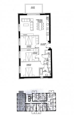Domenii - Luxuria Residence - 4 camere - Comision 0