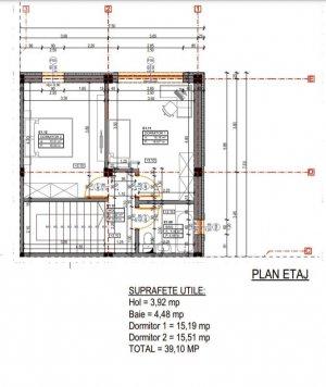 Otopeni - Vila 4 Camere - Incalzire in Pardoseala - Comision 0