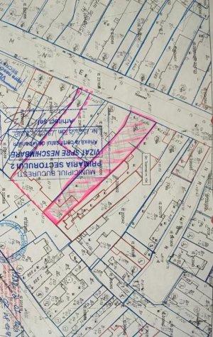 Vanzare teren cu casa 483 mp- Zona Centrala- Toamnei