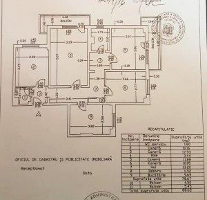 Apartament 4 camere - etj 3 - Parcul Morarilor -Soseaua Vergului 33