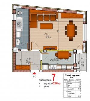 Garsoniera 42 mpu bloc nou - Tineretului - Vacaresti - COMISION 0