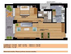 Calea Vitan 271 - Auchan - apartament 2 camere 2021 - COMISION 0
