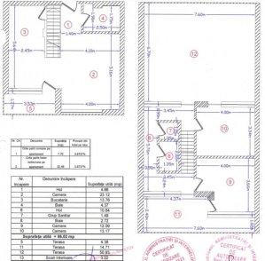 Otopeni - Terasa 51mp -Duplex - Penthouse - Ferme F