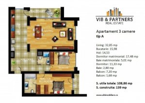 Apartament 3 camere+parcare - InCity -Alba Iulia, Dristor
