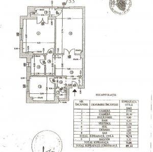 Apartament 2 camere Vitan Casa de Pensii