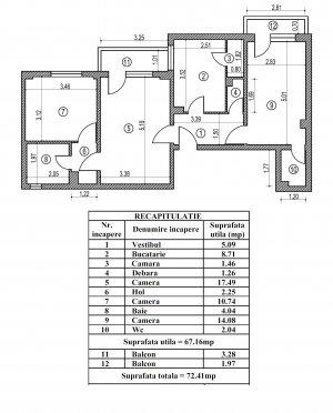 Apartament 3 camere-PANTELIMON-MEGA MALL