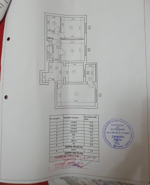 Apartament 3 camere-Dristor- Ramnicu Sarat-bloc 1984