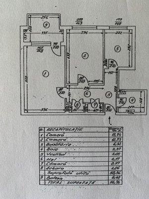 Apartament 2 camere - mobilat/utilat - Titan - Str Lotrioara