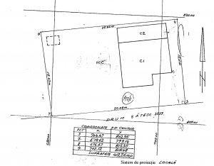 Vila 7 camere - P+M - 205 mp - 2005 - teren 816 mp - Comuna Berceni - Primarie