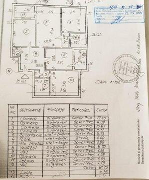Apartament 4 camere - 1992 - cu proiect centrala proprie - Berceni