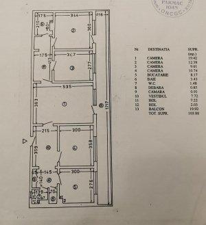 Apartament 4 camere - Lacul Tei - Masina de Paine