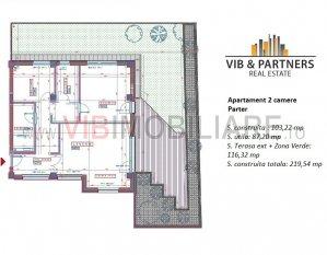 Romana -Dorobanti Polona-  apartament LUX imobil 2016 - gradina 116 mp