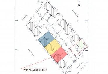 Teren cu Autorizatie de Construire Platou Gavana 250 mp