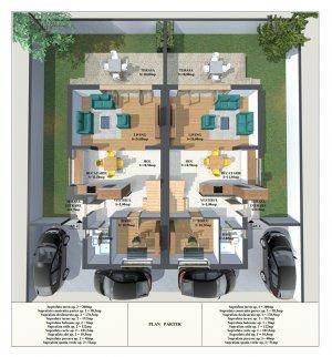 Vanzare Duplex Nou 3 Camere - Otopeni - Confort Lux