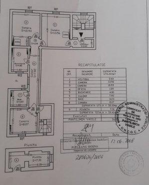3 camere in vila - 52mp - curte 60mp - langa Guvernul Romaniei