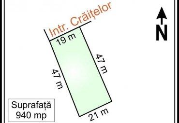OTOPENI - INTRAREA CRAITELOR, teren intravilan,