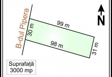 PIPERA - B-DUL PIPERA, teren intravilan