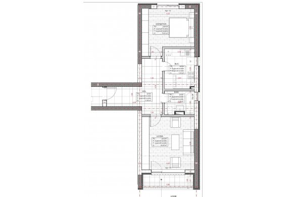 2 Camere Apartment - C2.8A