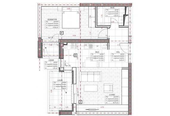 Apartament 2 Camere - C2.7A.1