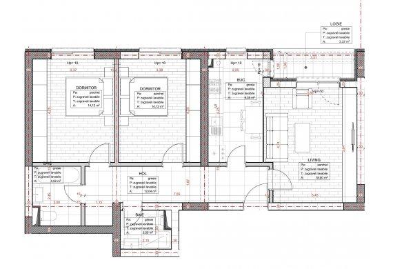 Apartament 3 Camere - C2.1.2A