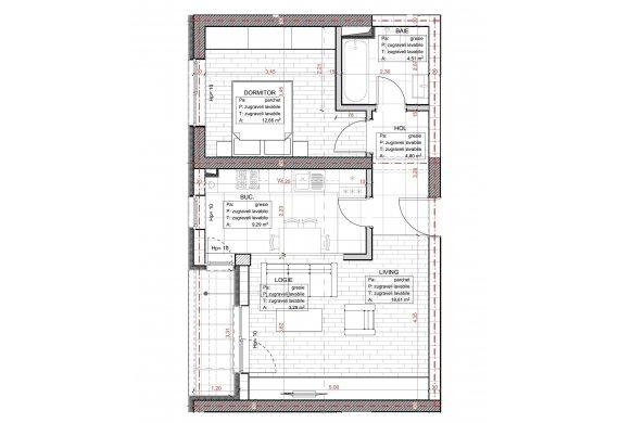 Apartament 2 Camere - C2.3.2A