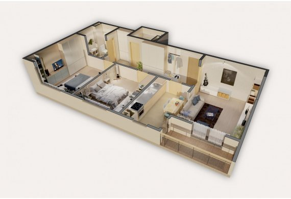 3 Camere Apartment - 1.1A