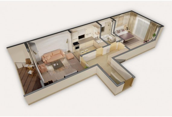 2 Camere Apartment - 8A